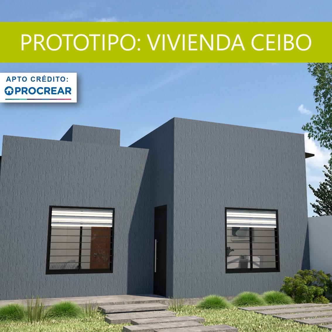 PROTOTIPO DE VIVIENDA EN STEEL FRAMING: CEIBO (social)