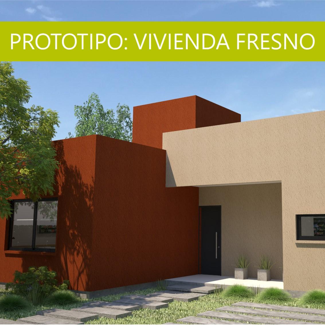 PROTOTIPO DE VIVIENDA EN STEEL FRAMING: «Fresno»