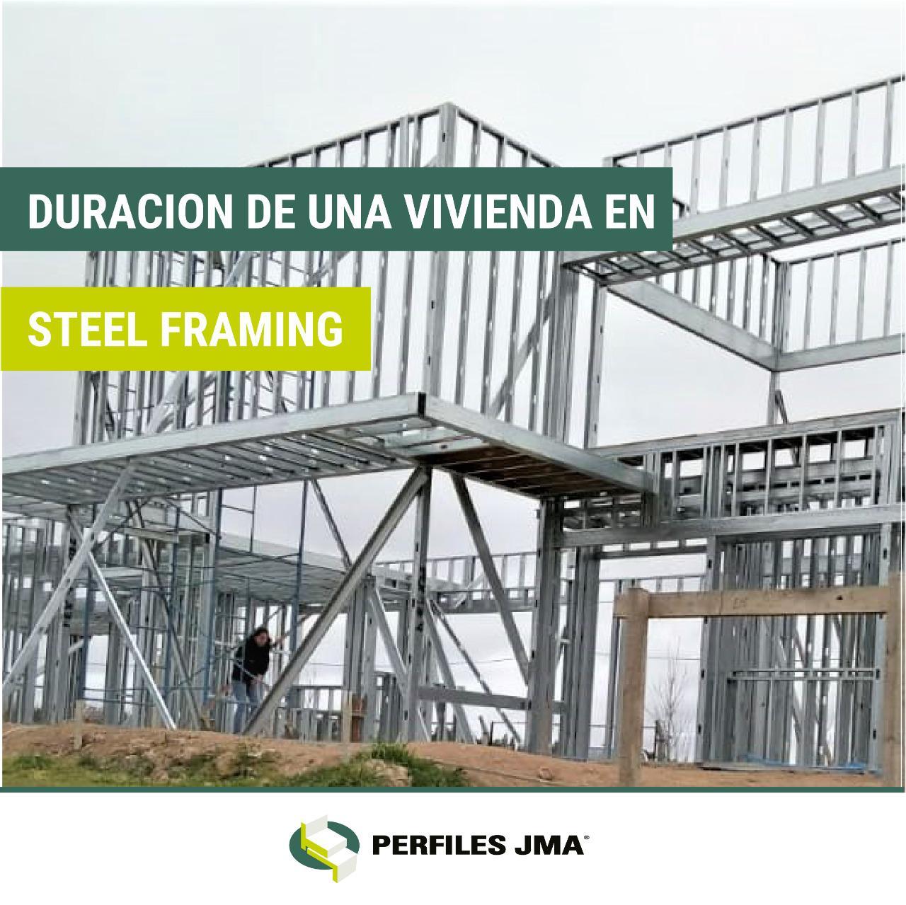 DURACIÓN DE UNA VIVIENDA EN STEEL FRAMING