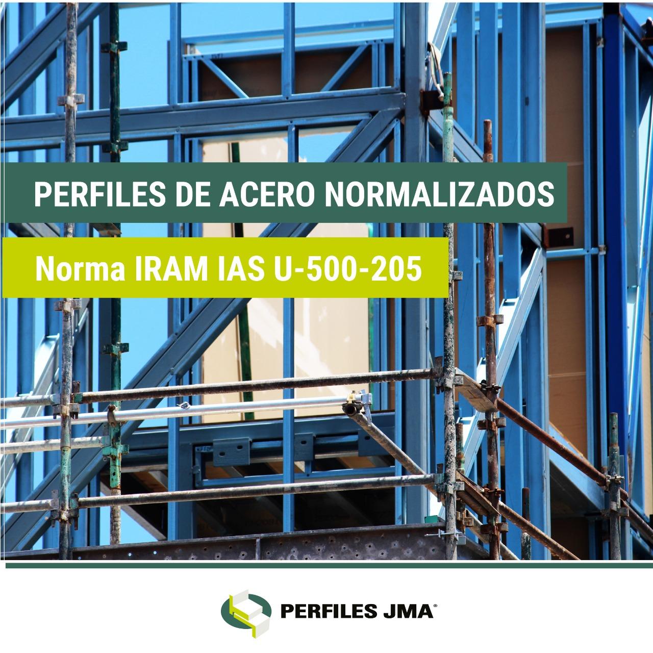 PERFILES DE ACERO NORMALIZADOS